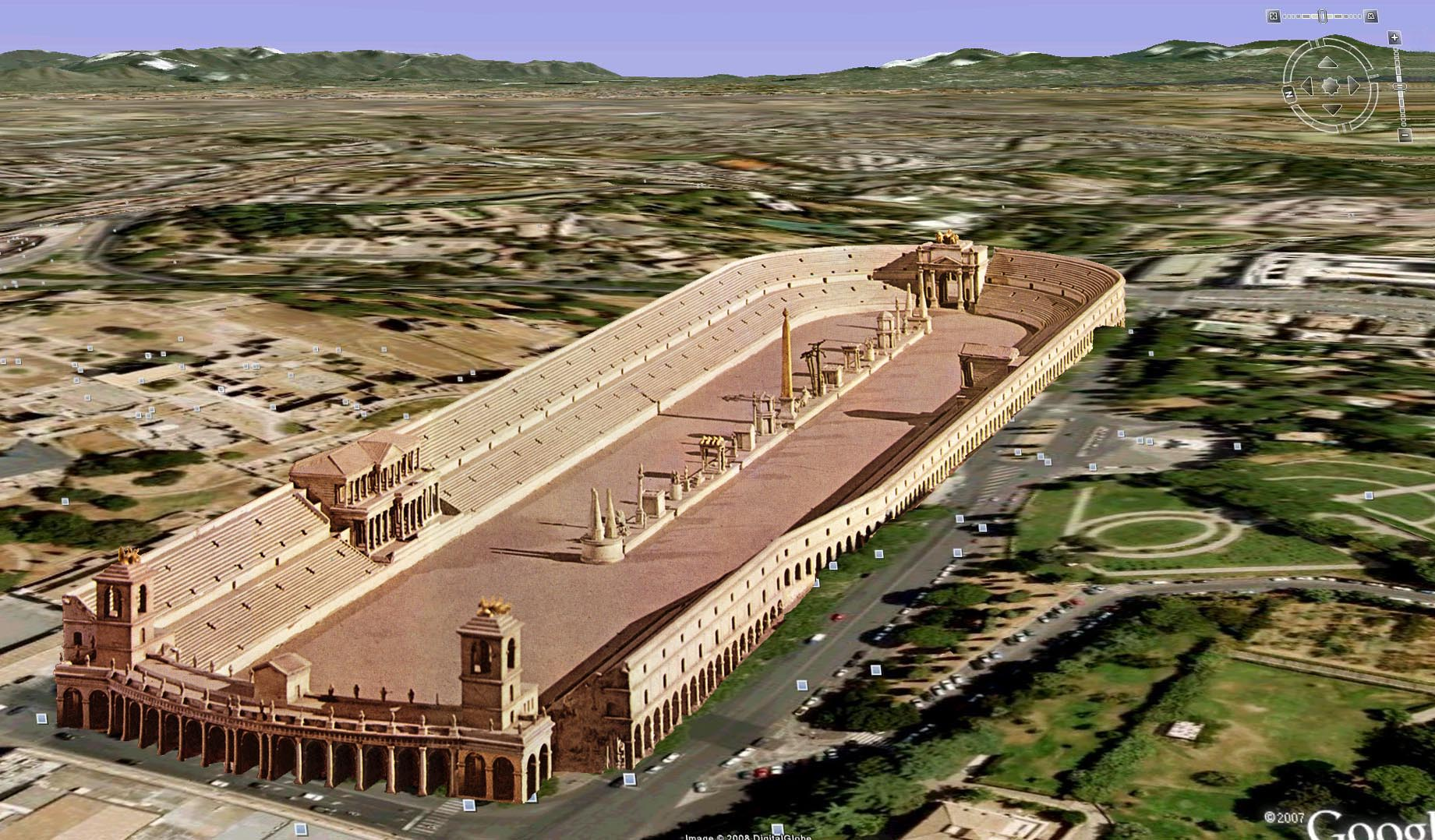 the circus maximus The famous circus maximus was a huge chariot race track and arena in ancient rome chariot races were one of the roman citizen's most popular forms of entertainment.